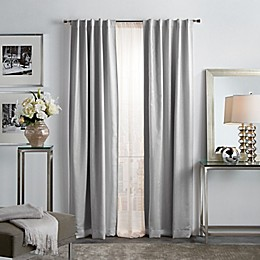 Martha Stewart Park Avenue 2-Pack Backtab Room Darkening Window Curtain Panels