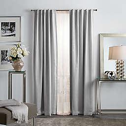 Martha Stewart Park Avenue Backtab Room Darkening Window Curtain Panels (Set of 2)
