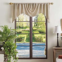 Martha Stewart Naples Chenille Window Valance