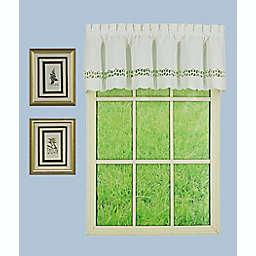 Today's Curtain® Hellina Tapework Kitchen Window Valance