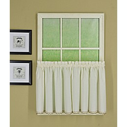Today's Curtain Alpine Kitchen 2-Pack Window Curtain Tiers