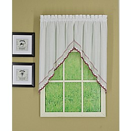 Todays Curtain Alpine 2-Pack 38-Inch Window Swag Pair