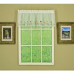 Today's Curtain Napa Window Valance in Ecru/Multi