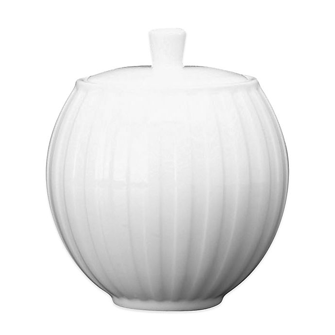 Alternate image 1 for Wedgwood® Night and Day Covered Sugar Bowl