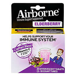 Airborne® 20-Count Immune Support Effervescent Tablets in Elderberry