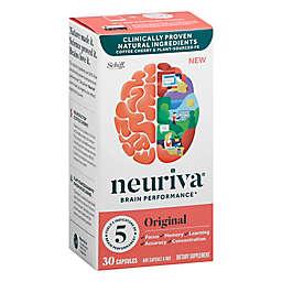 Neuriva® 30-Count Original Brain Performance Brain Support Supplement Capsules