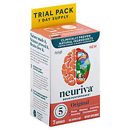 Neuriva® Brain Performance 7-Day Trial Pack 7-Count Dietary Supplement Capsules