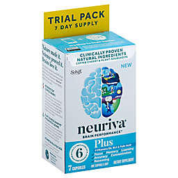 Neuriva® Brain Performance Plus 7-Day Trial Pack 7-Count Dietary Supplement Capsules