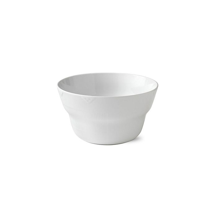 Alternate image 1 for Royal Copenhagen Elements Large Bowl in White