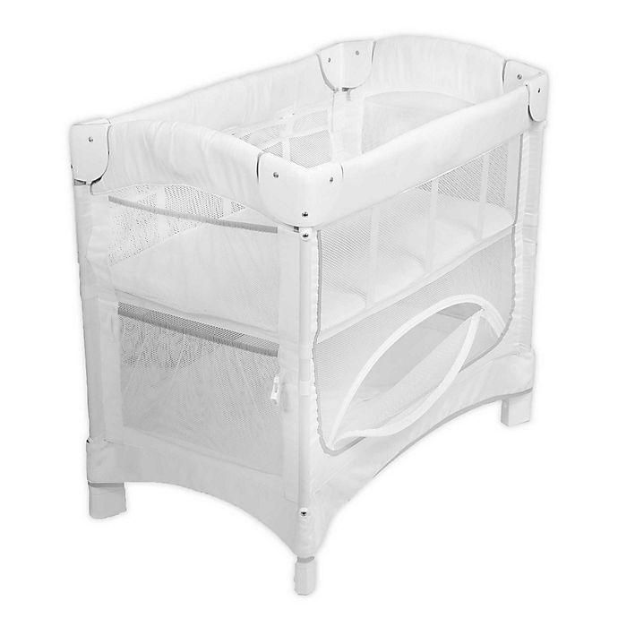 Alternate image 1 for Arm's Reach® Mini Ezee™ 2-in-1 Co-Sleeper® in White