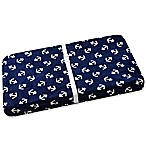 Wendy Bellissimo™ Mix & Match Anchor Print Changing Pad Cover in Navy