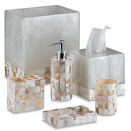 Capiz Bathroom Accessory Collection