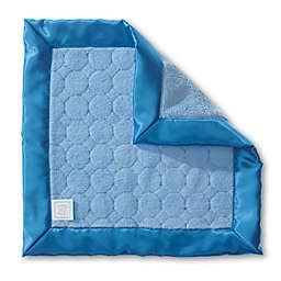 SwaddleDesigns® Puffy Baby Lovie Security Blanket in Blue