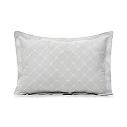 Glenna Jean Starlight Large Pillow Sham in Grey