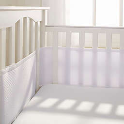 Breathable Baby® Deluxe Breathable Mesh Crib Liner in White