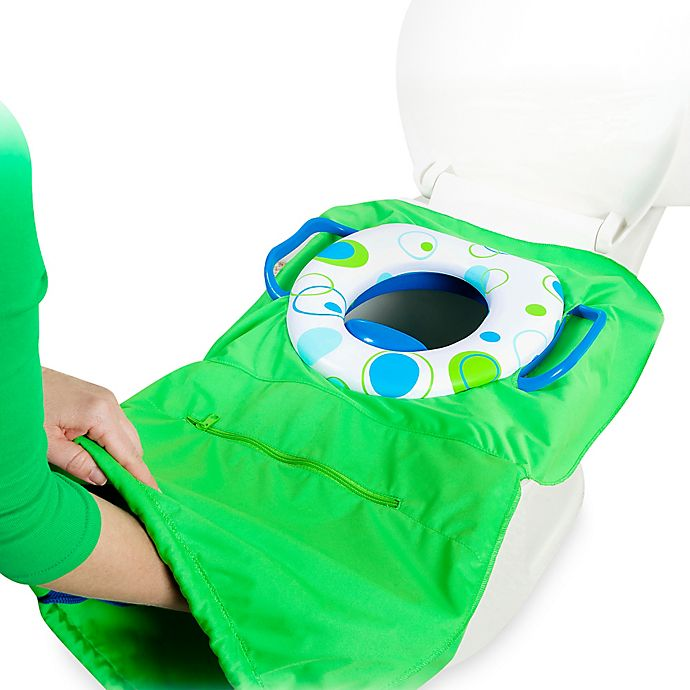 Alternate image 1 for Tottigo™ Pack 'n Potty Travel Potty Seat in Royal Blue
