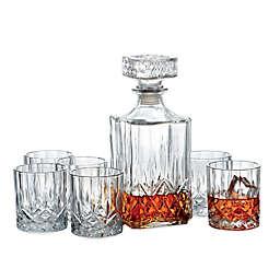 Denmark 7-Piece Whiskey Decanter Set