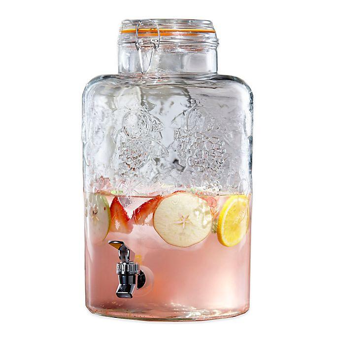 Alternate image 1 for Vineyard Glass Beverage Dispenser in Clear