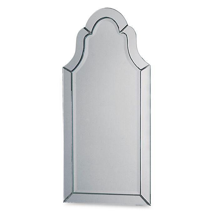 Alternate image 1 for Uttermost Hovan Frameless Arch Mirror