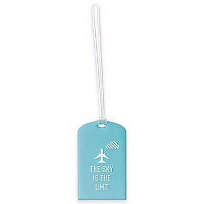 Go Travel Luggage ID Tag in Bold Blue