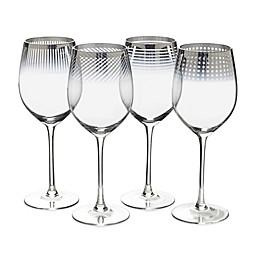 Mikasa® Cheers Metallic Ombre Red Wine Glasses (Set of 4)