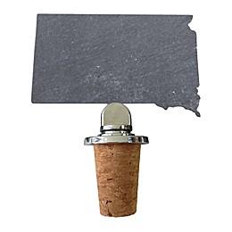 Top Shelf Living Slate South Dakota Wine Stopper