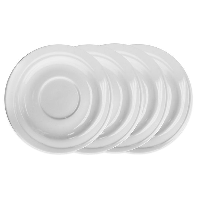 Alternate image 1 for BergHOFF® Hotel Line Saucers (Set of 4)