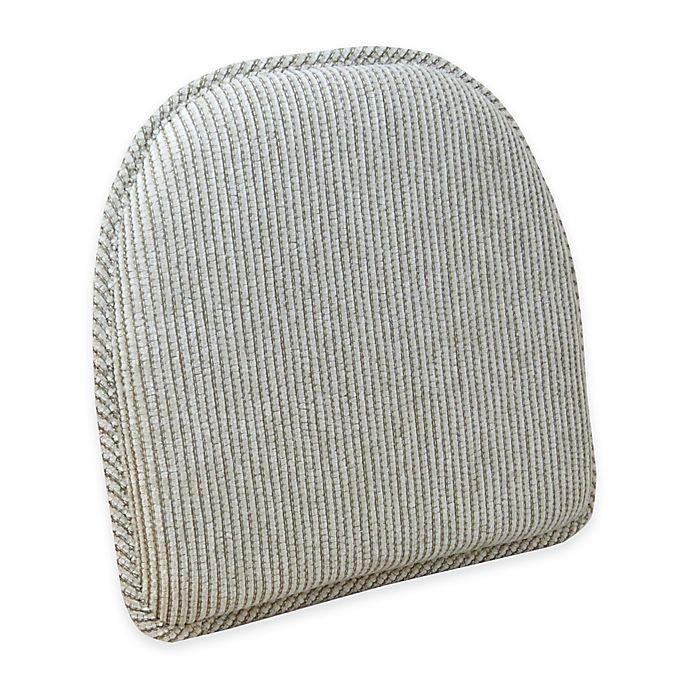 Alternate image 1 for Klear Vu Essentials Outwest Gripper® Chair Pad in Linen