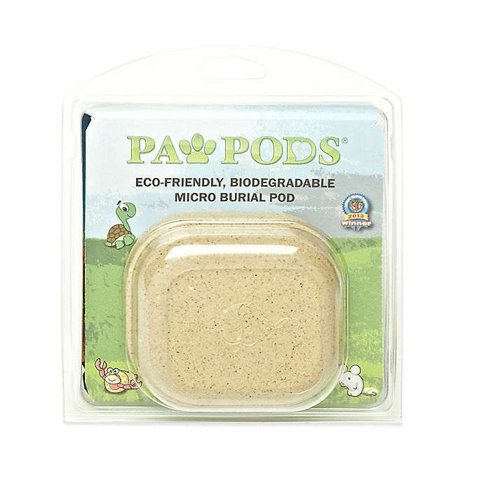 paw pod pet burial pod in natural bed bath beyond