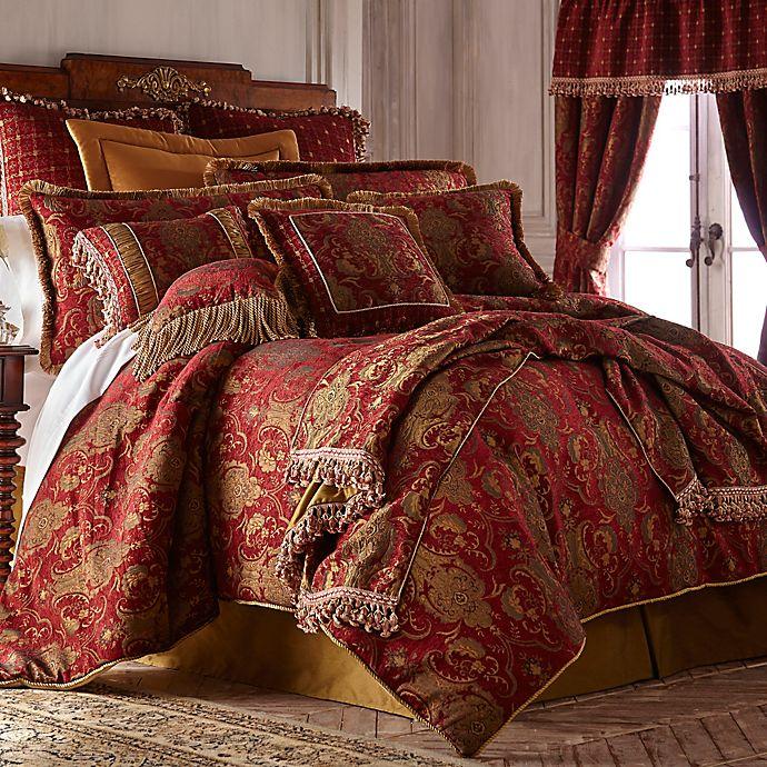 Alternate image 1 for Sherry Kline China Art California King Comforter Set in Red