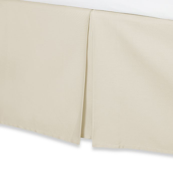 Alternate image 1 for Wamsutta® 400-Thread-Count Cotton 18-Inch Drop Bed Skirt