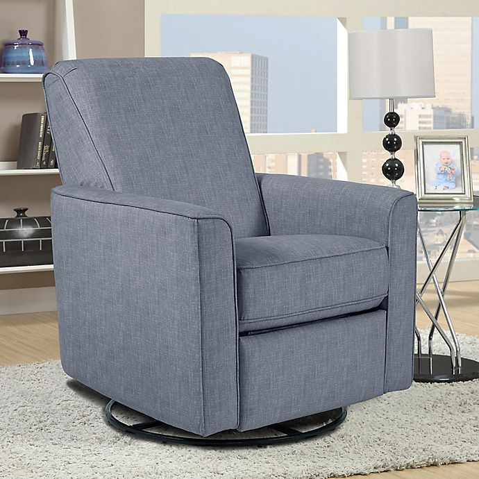Pulaski Harmony Swivel Glider Chair In Grey Bed Bath Beyond