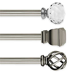 Cambria® Elite Complete Decorative Window Hardware in Brushed Nickel