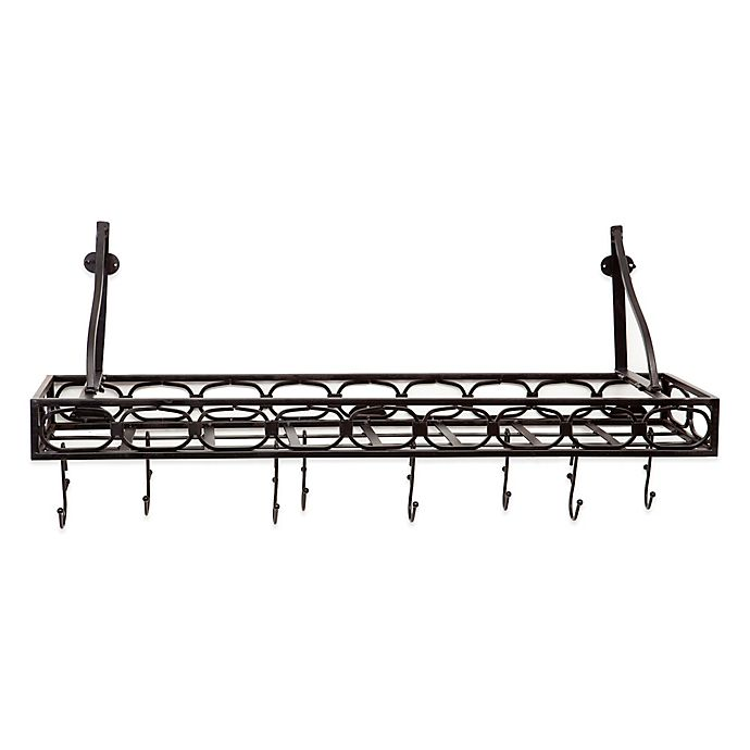 Old Dutch International Steel Bookshelf 36 Inch Pot Rack
