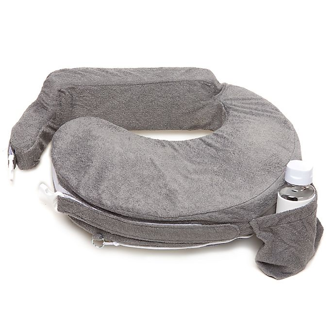 Alternate image 1 for My Brest Friend® Deluxe Nursing Pillow in Evening Grey