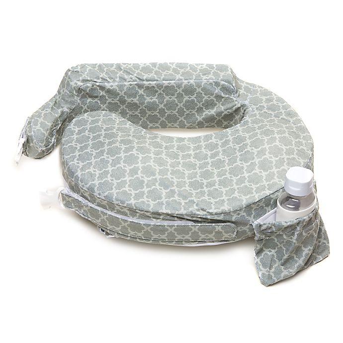 Alternate image 1 for My Brest Friend® Original Nursing Pillow in Flower Key Grey