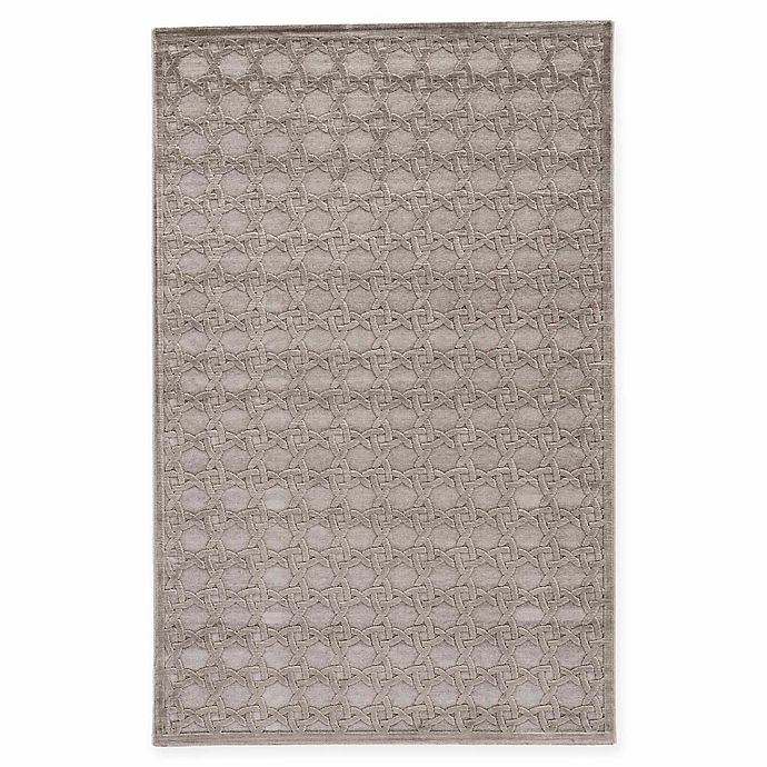 Alternate image 1 for Jaipur Fables Trella 5-Foot x 7-Foot 6-Inch Area Rug in Grey