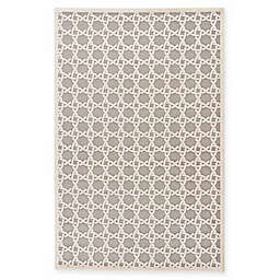 Jaipur Fables Trella 5-Foot x 7-Foot 6-Inch Area Rug in Ivory/Grey