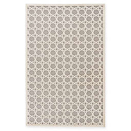 Jaipur Fables Trella 7-Foot 6-Inch x 9-Foot 6-Inch Area Rug in Ivory/Grey