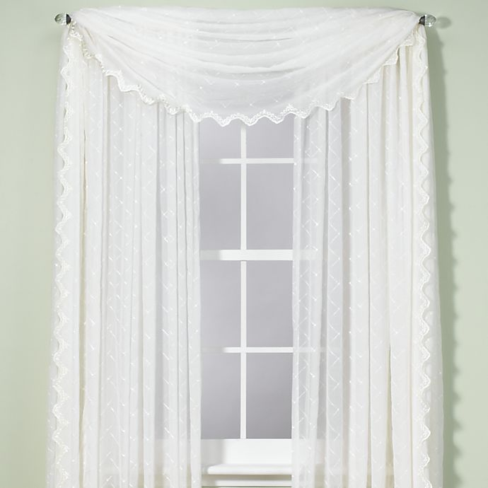 Alternate image 1 for Diamante Window Curtain Panel