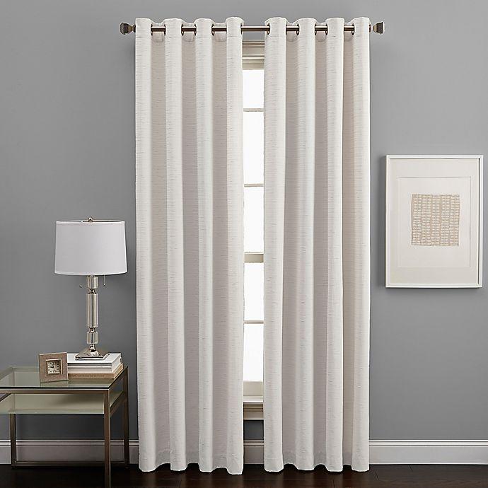 Alternate image 1 for West End Grommet Light Filtering Window Curtain Panel