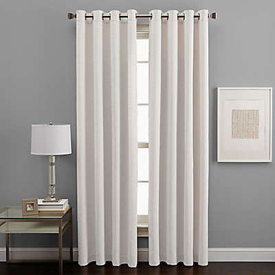West End Grommet Light Filtering Window Curtain Panel