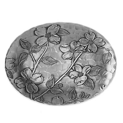 Wendell August Dogwood Aluminum Oval Bowl