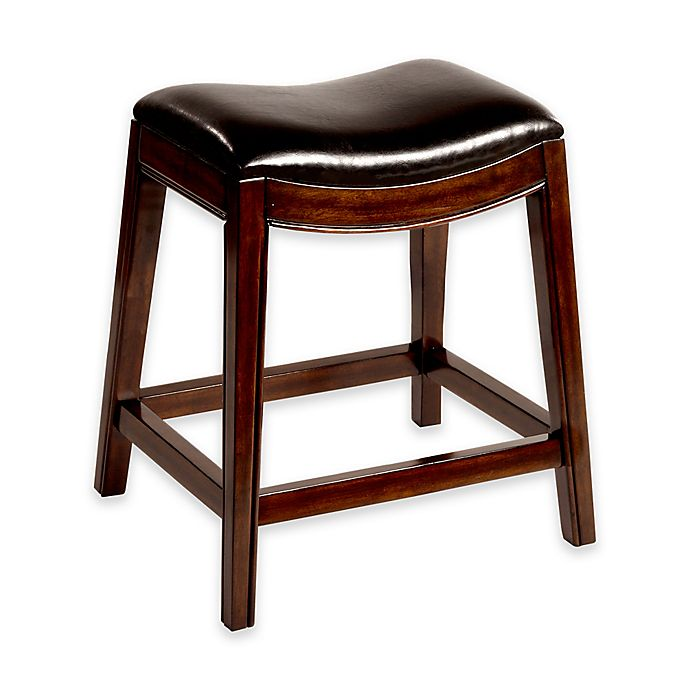 Alternate image 1 for Hillsdale Furniture Kenton Wood 26-Inch Backless Counter Stool in Espresso
