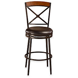Colton Swivel Stools in Brown