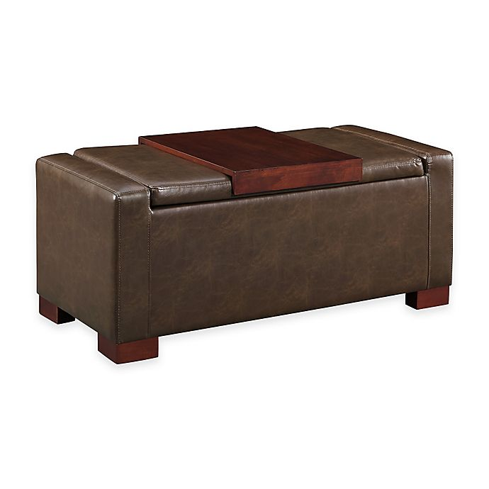 Surprising Davis Lift Top Storage Ottoman Bed Bath Beyond Dailytribune Chair Design For Home Dailytribuneorg