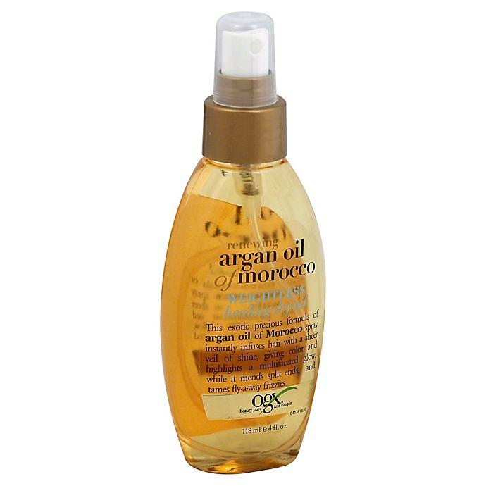 Alternate image 1 for OGX® 4 fl. oz. Renewing Argan Oil of Morocco Weightless Healing Dry Oil
