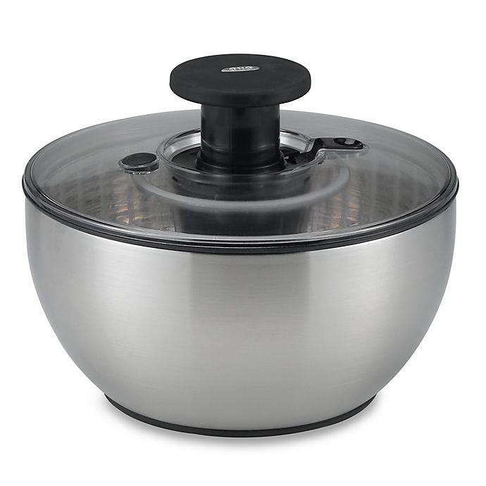 Alternate image 1 for OXO SteeL® Salad Spinner