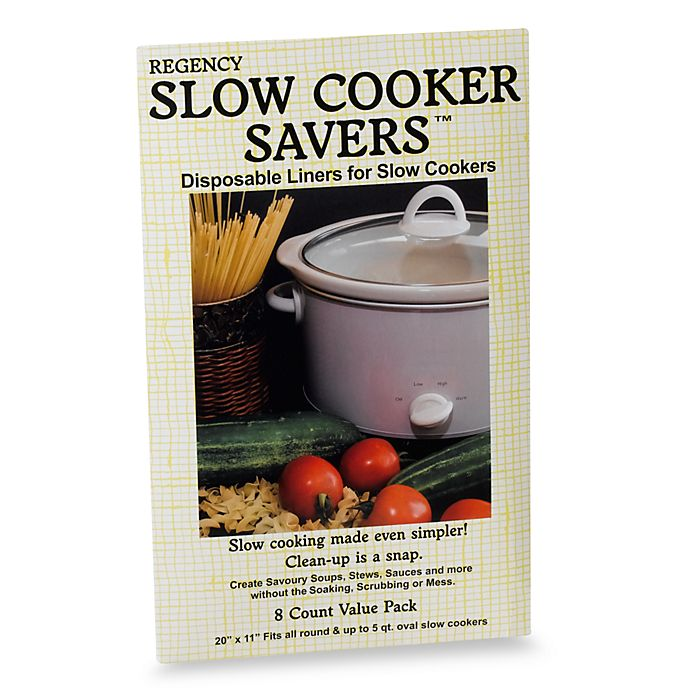 Alternate image 1 for Slow Cooker Liner (8-Pack)