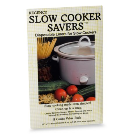 2 X Packs SLOW COOKER Liners Pk of 5 For Round /& Oval Slow Cookers